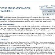 UKCSA Newsletter January 2020