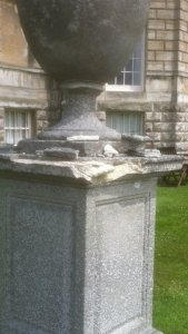 Henley Stone urn restoration