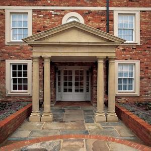 Pedimented Portico by Haddonstone